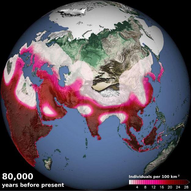 Computer Model Simulates Ancient Climate Change, Migration - Archaeology Magazine