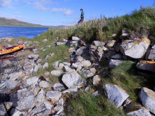 Scotland Iron Age broch