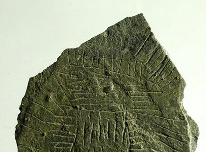 Denmark engraved stone