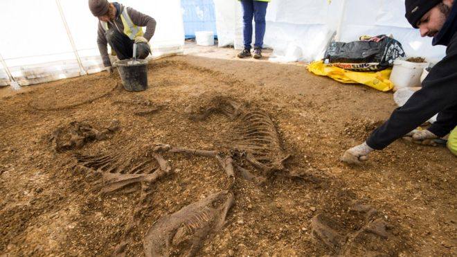 England Chariot burial