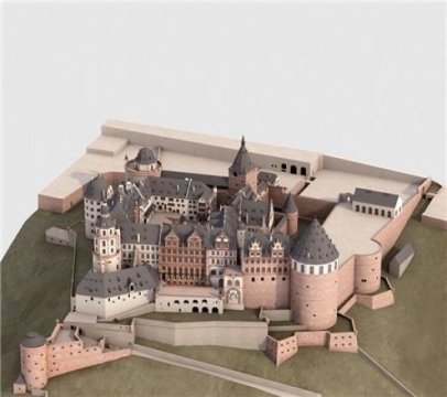3-D Virtual Model Reconstructs Germany's Heidelberg Castle