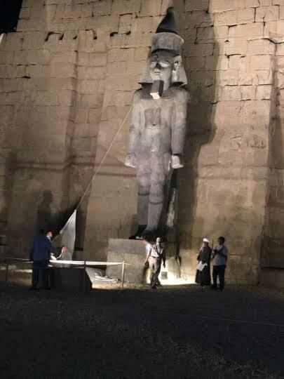 Luxor Ramses colossus
