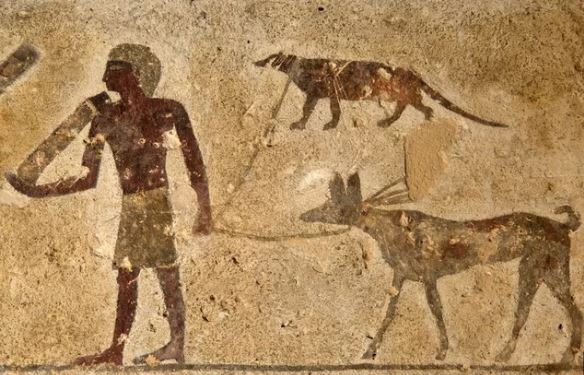 4,000-Year-Old Paintings Revealed on Egyptian Tomb Walls