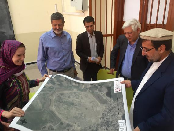 Afghanistan mapping project
