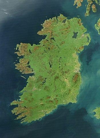 Ireland genetic map
