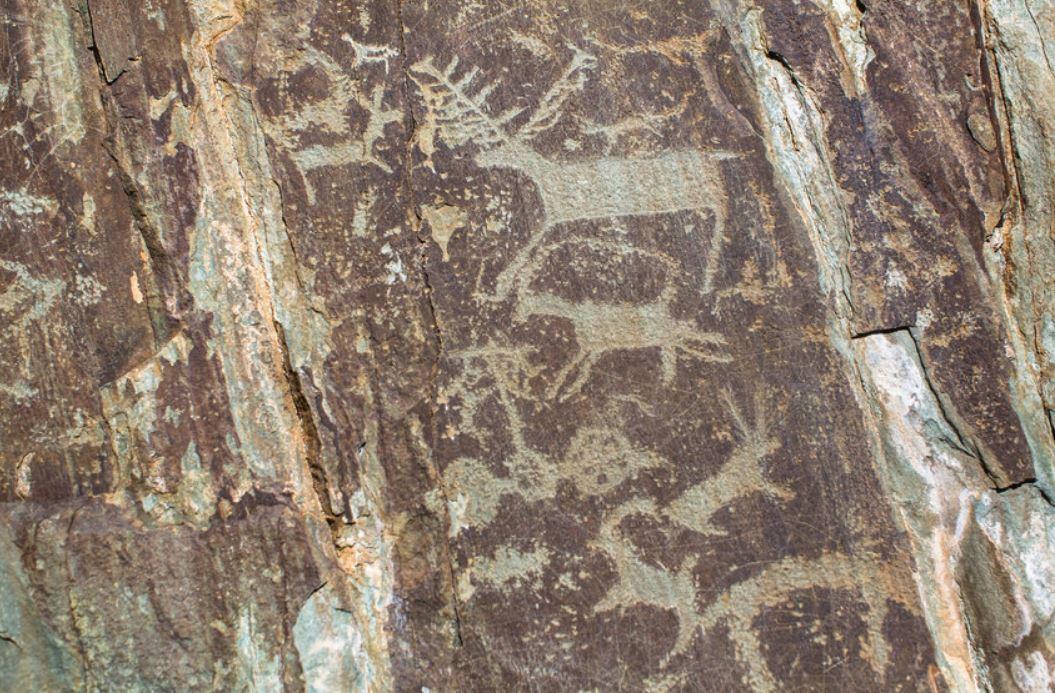 Cave art communication