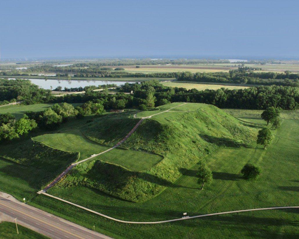 Cahokia Aerial Mound