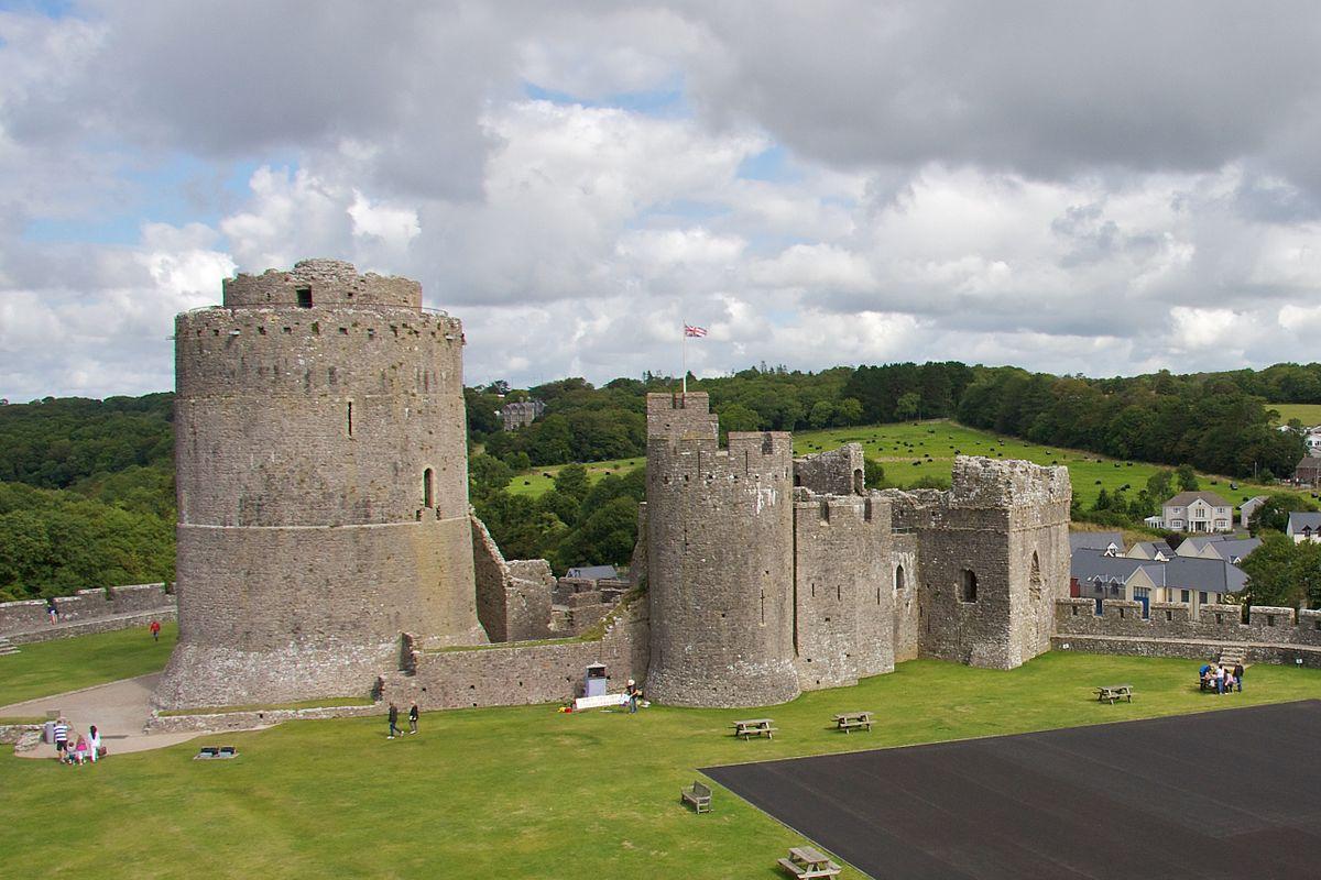 Pembroke Castle mansion