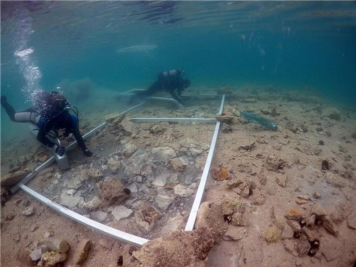 Croatia Adriatic Underwater Site