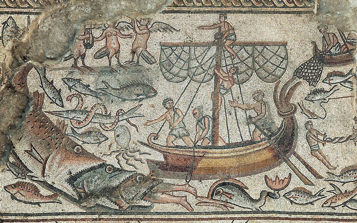 Galilean Synagogue's Stunning Mosaics Seen For the First Time