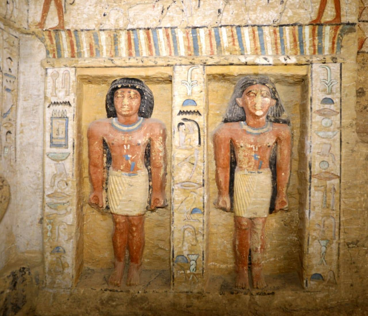 Saqqara priest tomb