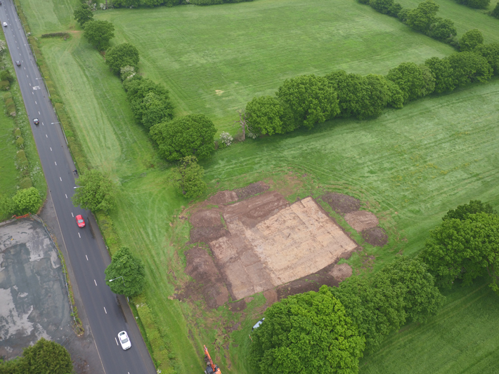 Section of Roman Road Uncovered in Northern England