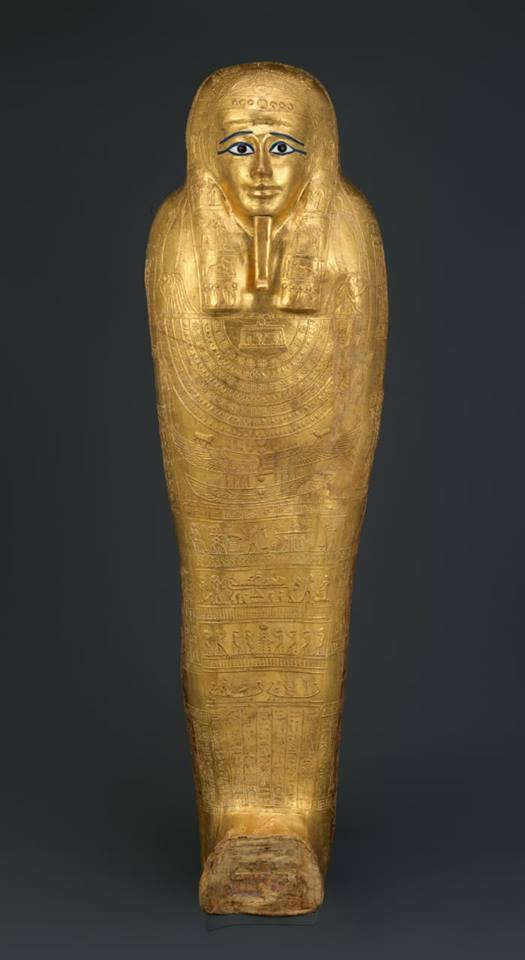 Metropolitan Museum Repatriates Gilded Coffin to Egypt
