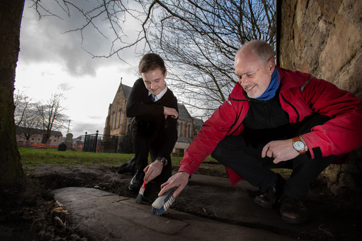 Lost Medieval Gravestones Rediscovered