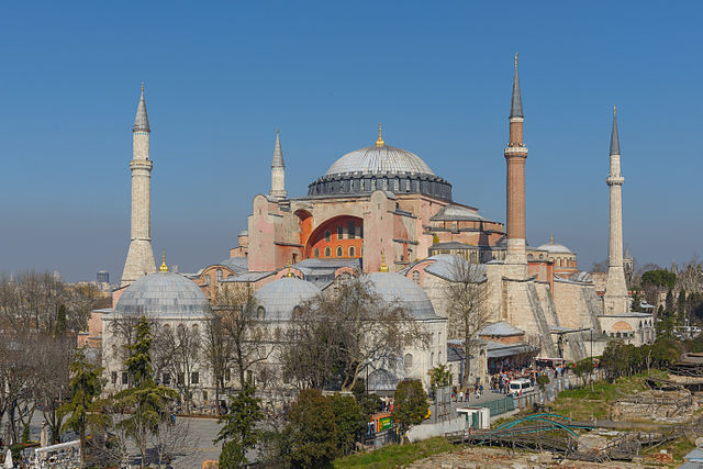 Byzantine-Era Structures Identified at Istanbul's Hagia Sophia
