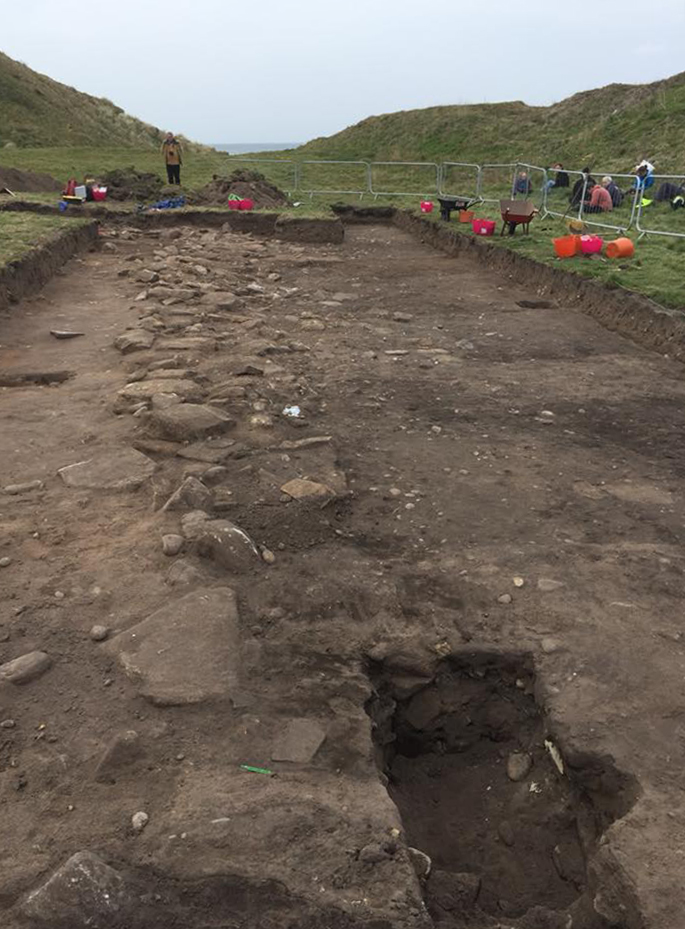 Section of Pictish Fort Uncovered in Scotland