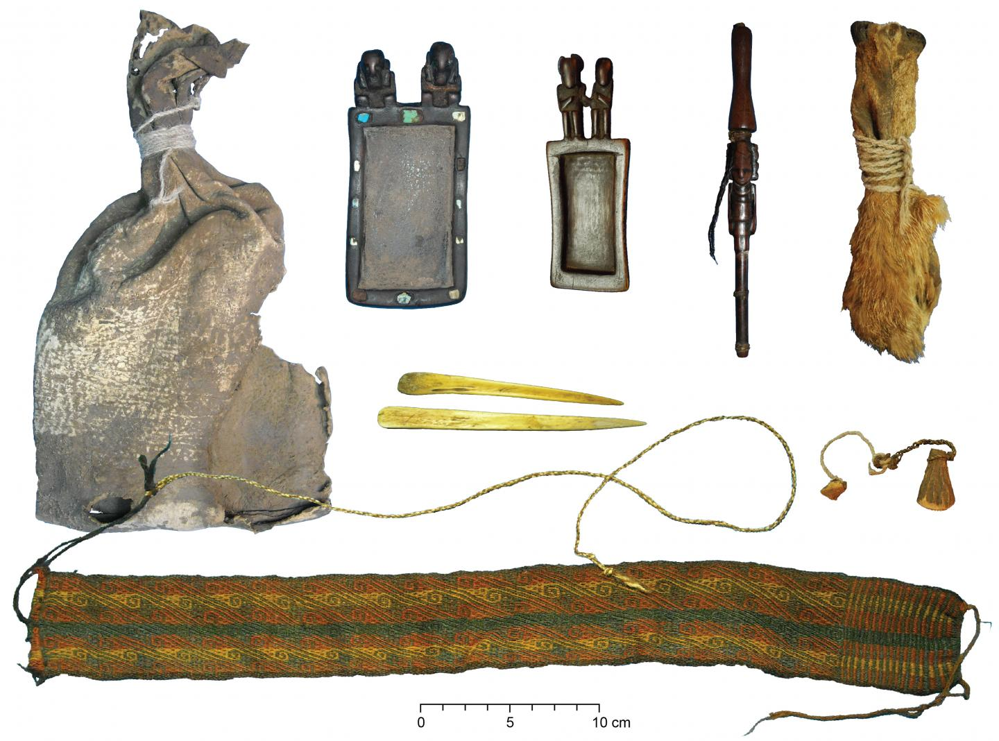 Drug Residues Detected on Ancient Ritual Bundle From Bolivia