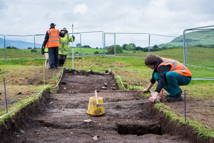 Archaeology at Carrowmore Tombs