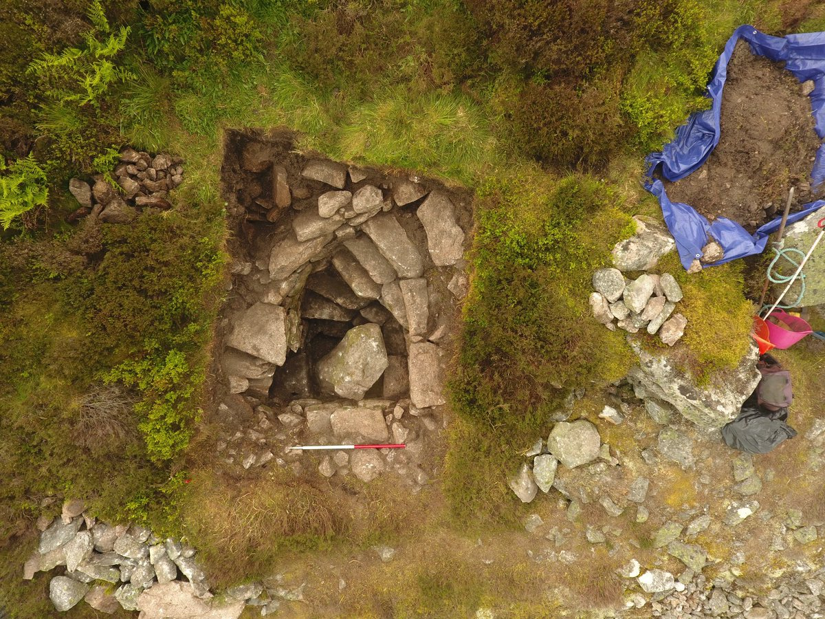 Well With Stone Stairs Unearthed in Scotland - Archaeology Magazine