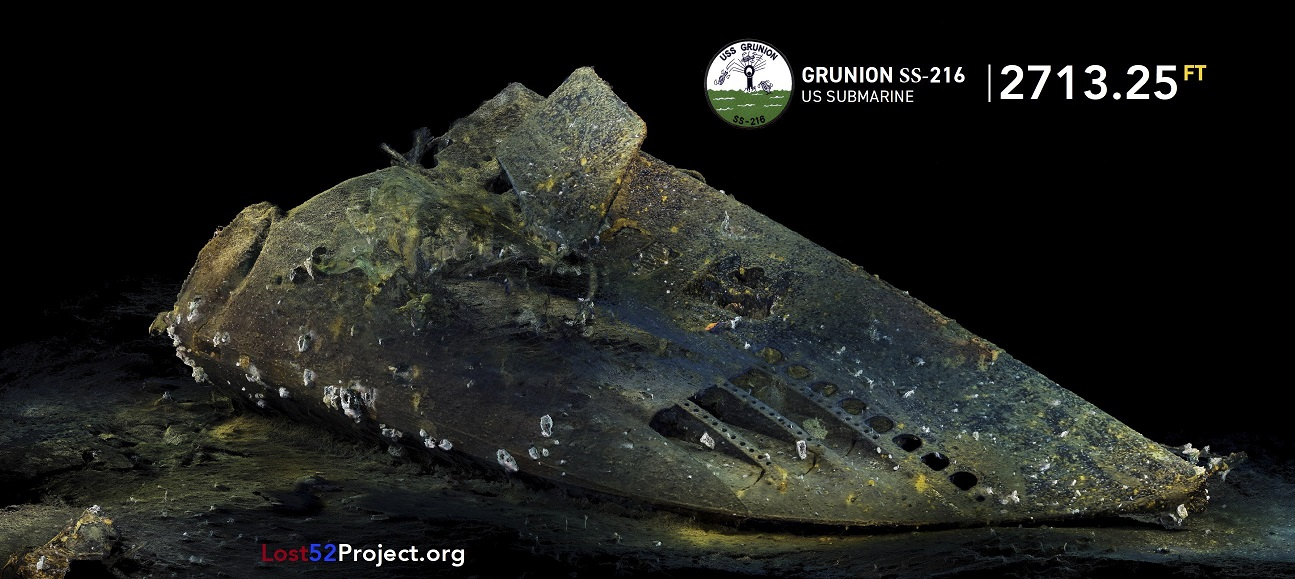 Section of World War II Submarine Found Off Alaskan Coast - Archaeology Magazine