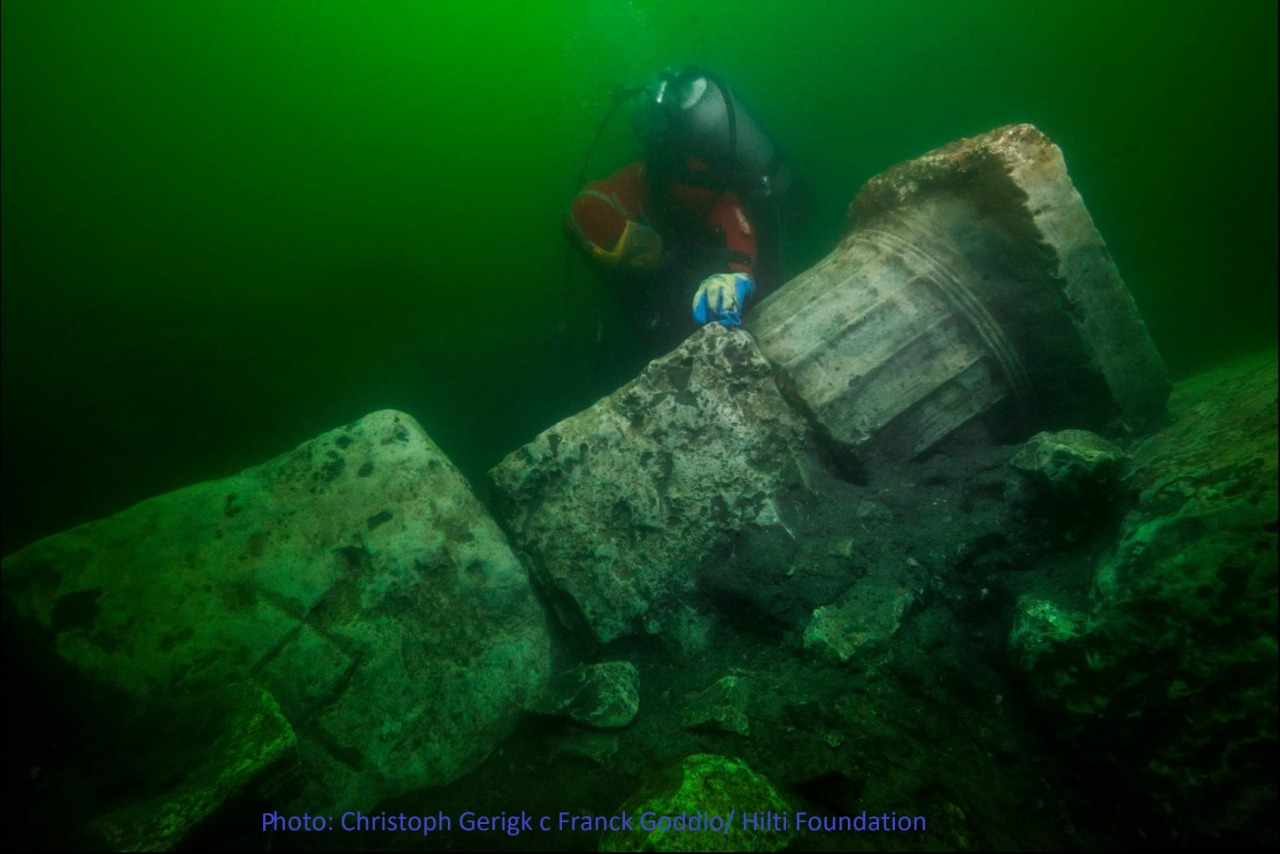 Egypt Heracleion excavation