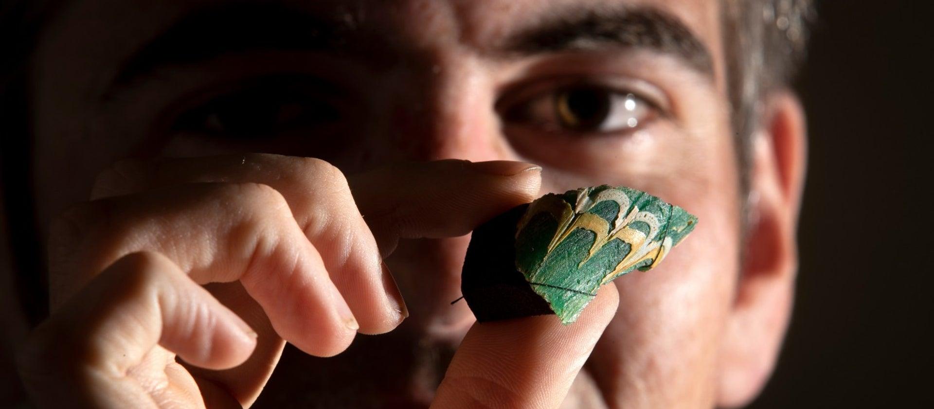 Rare Roman Glass Identified in England - Archaeology Magazine