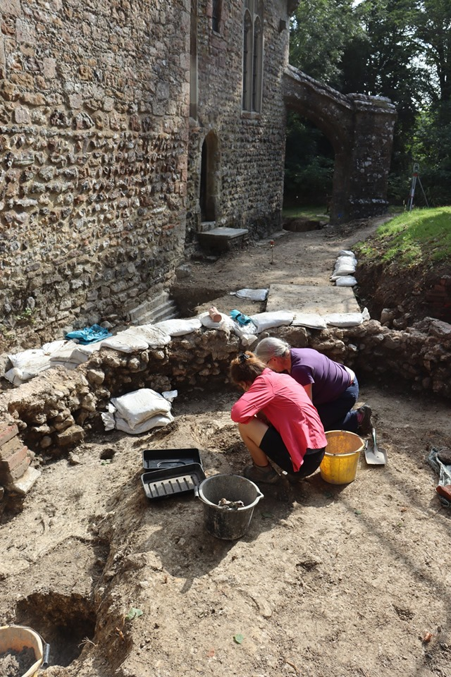 Early Stone Church Unearthed in England  - Archaeology Magazine
