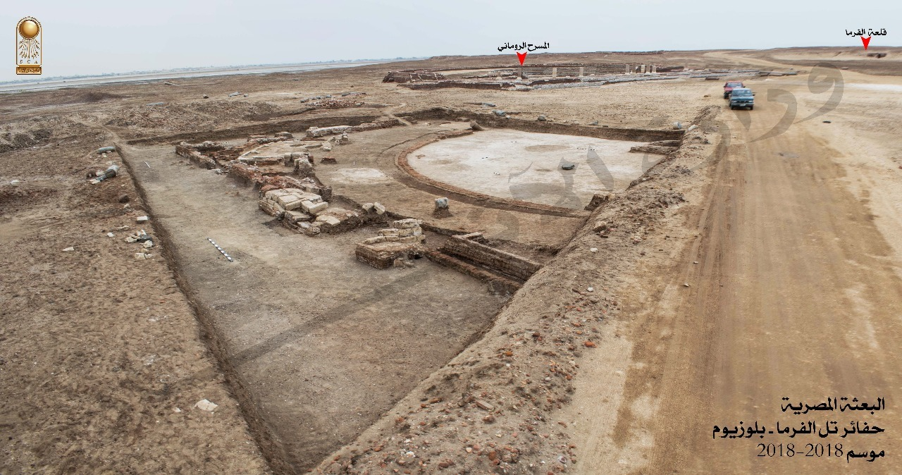 Roman Senate Building Unearthed in Egypt - Archaeology Magazine