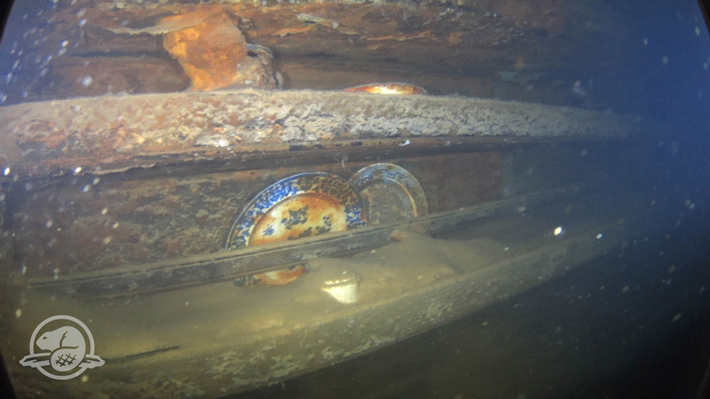 Researchers Return to Wreckage of HMS Terror  - Archaeology Magazine