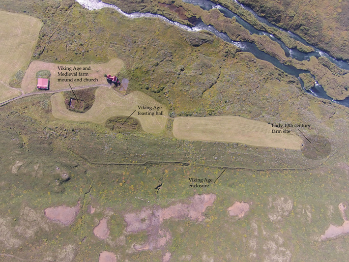 Traces of Three Historic Structures Found in Iceland - Archaeology Magazine