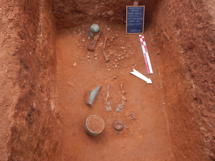 2,500-Year-Old Cemetery in Greece Yields Armor and Artifacts - Archaeology Magazine