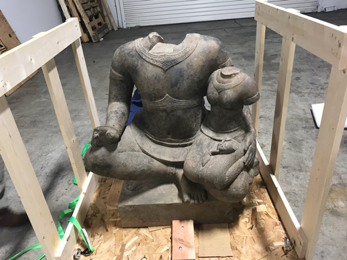Looted Cambodian Statue Recovered in California - Archaeology Magazine