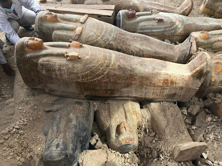 Intact 4,000-Year-Old Coffins Found in Egypt - Archaeology Magazine
