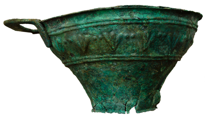 Greece Bronze Vessel