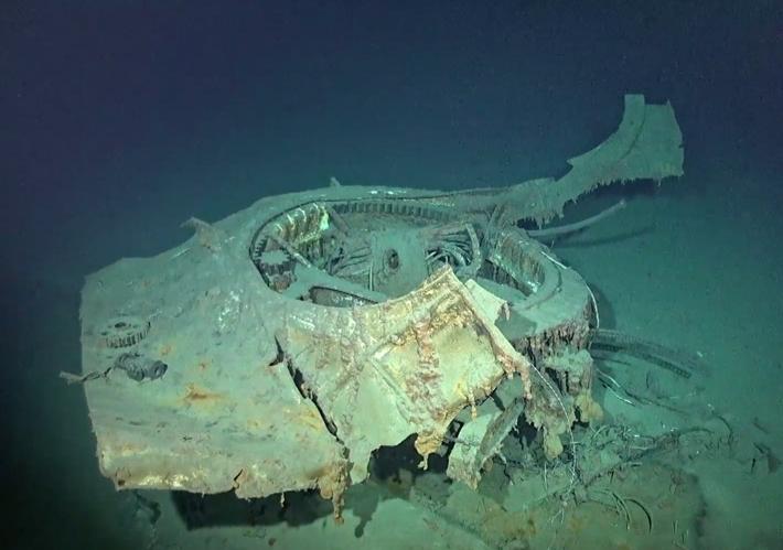 World War II-Era Wreckage Found in Philippine Sea - Archaeology Magazine