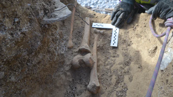 Rescue Excavation in Wales Recovers Skeletal Remains - Archaeology Magazine