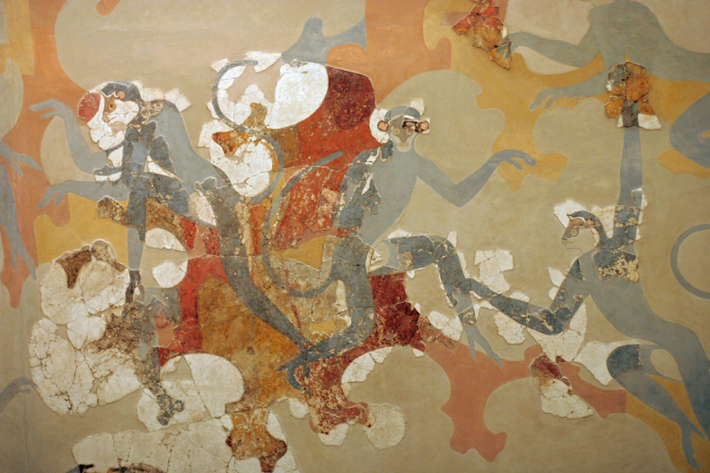 Monkey from Southern Asia Identified in Ancient Greek Artwork - Archaeology Magazine