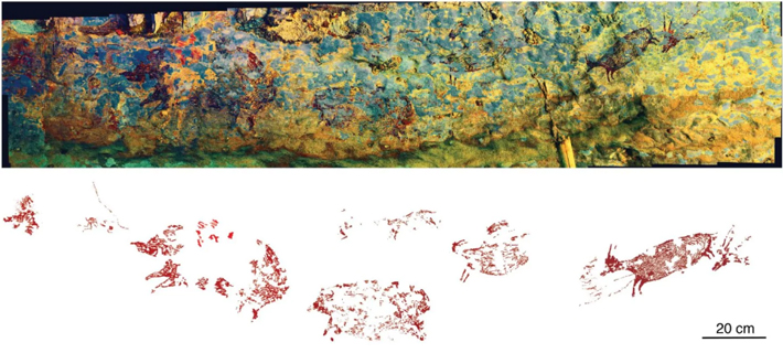 Narrative Cave Art in Indonesia Dated to 44,000 Years Ago  - Archaeology Magazine