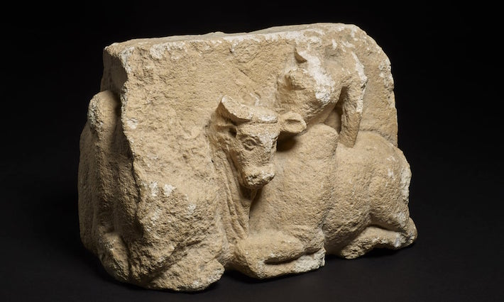 Afghanistan Bull Sculpture
