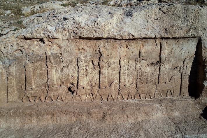 Assyrian Reliefs Excavated in Northern Iraq - Archaeology Magazine