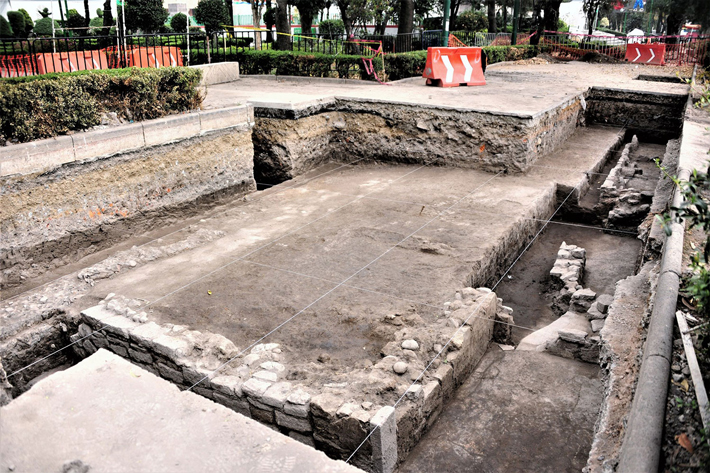 600-Year-Old Foundations Unearthed in Mexicapan - Archaeology Magazine
