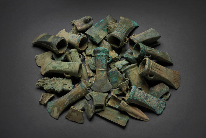 Havering Hoard Includes Unexpected Imports  - Archaeology Magazine