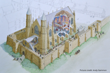 Medieval Princely Chapel Discovered in England - Archaeology Magazine
