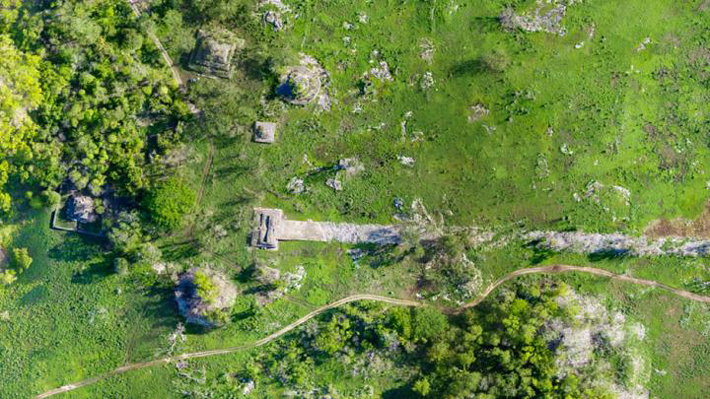 Lidar Study Reveals Towns Along Sacred Maya Road  - Archaeology Magazine