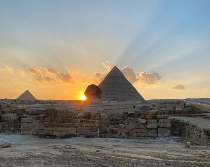 Does Equinox Sunset Highlight Egypt's Sphinx? - Archaeology Magazine