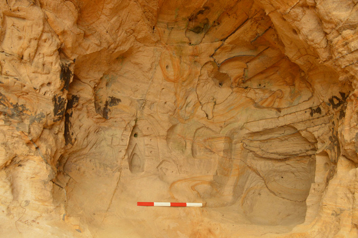 Medieval Cave Art Discovered in Southeastern England - Archaeology Magazine