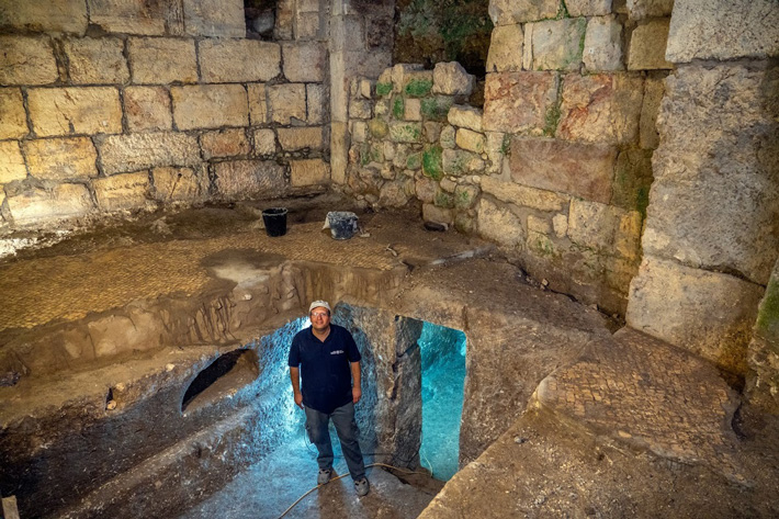 Early Roman-Era Chambers Discovered in Jerusalem  - Archaeology Magazine