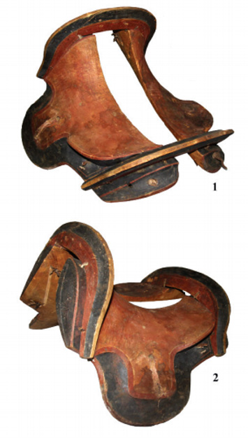 1,600-Year-Old Wooden Saddle Examined - Archaeology Magazine