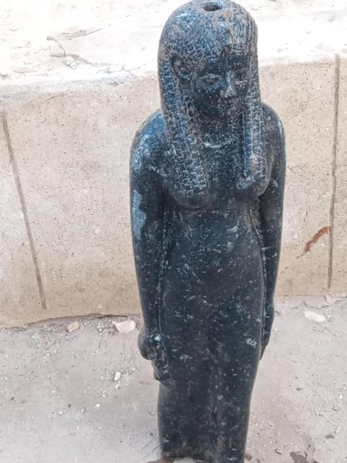 Ramesses II Statue Unearthed in Egypt - Archaeology Magazine