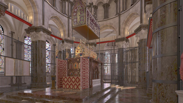 England Becket Shrine